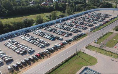 парковка в аэропорту Шереметьево